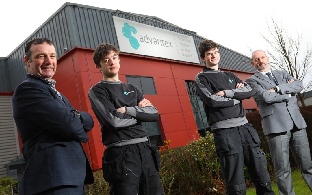 College to help train technology specialist's latest apprentice recruits