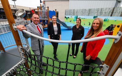 Dalton Park officially unveils new children's playground