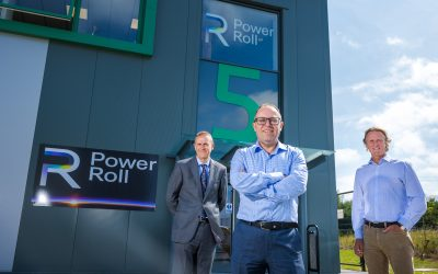 Power Roll creates first of its kind manufacturing facility at Murton business park