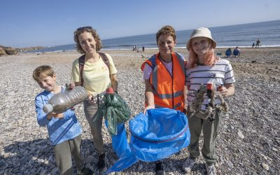 Council and volunteers urge visitors to pick up rubbish along County Durham's coastline