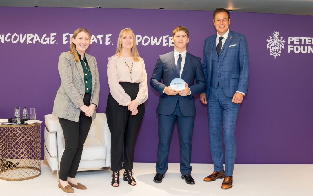 Success for East Durham College students and staff at Peter Jones Enterprise Academy awards