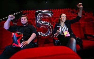 Cineworld celebrates five years at Dalton Park with birthday treats for visitors