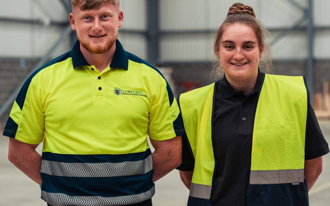 CoreHaus creates region's future construction workforce with key training partnership