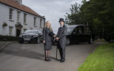 Funeral services company marks one year anniversary with investment in new Jaguar fleet